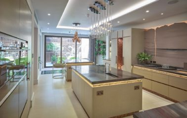 Bespoke aluminium glazing offers a wealth of natural light