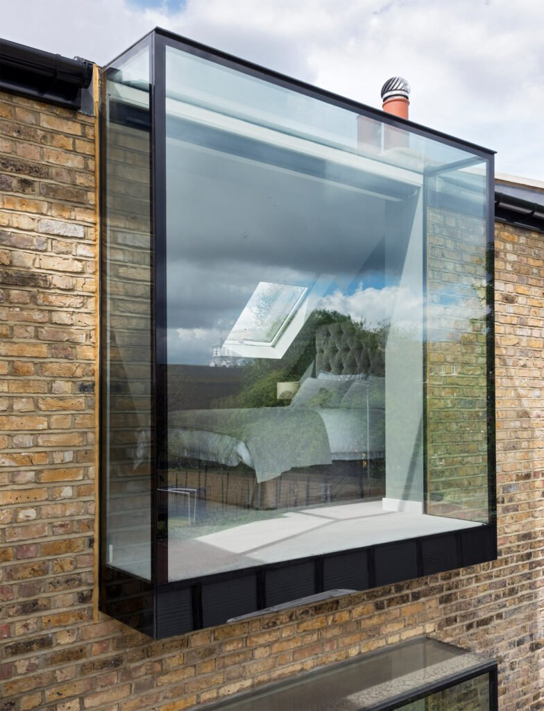 Oriel glass box window for London apartment
