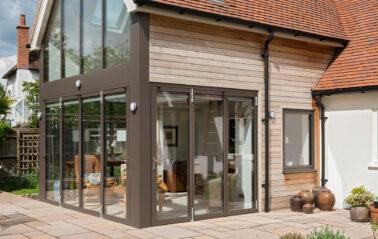ODC Aluminium curtain walling & full height glazing in Oxfordshire