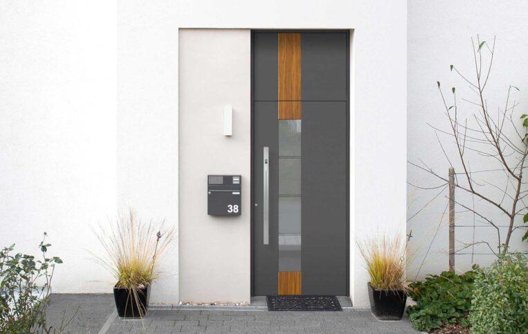 Custom external entrance door