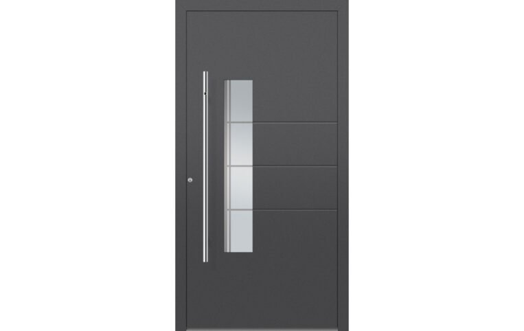 A typical external door - strong, secure and thermally efficient