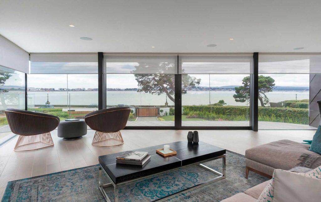 Roller blinds for coastal homes