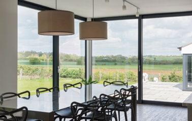 Aluminium Sliding doors ODC300 for Essex home renovation