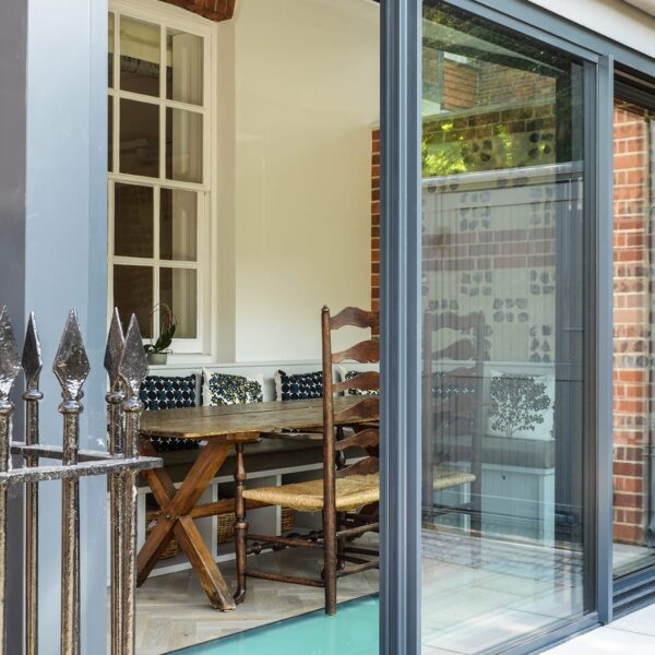 ODC Cero sliding doors for Winchester home