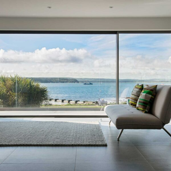 ODC Cero sliding doors offer views of harbour