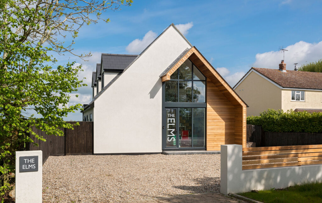 Curtain walling for Essex home