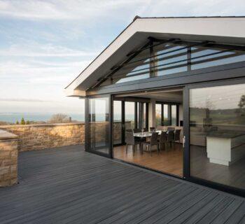 ODC sliding doors to terrace