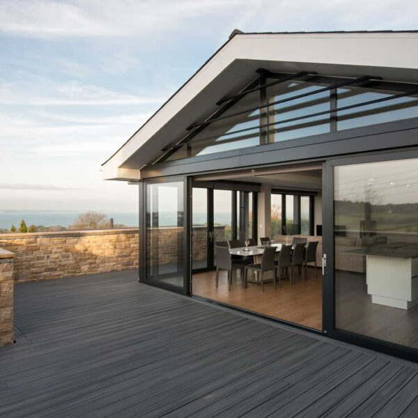 ODC sliding doors to terrace