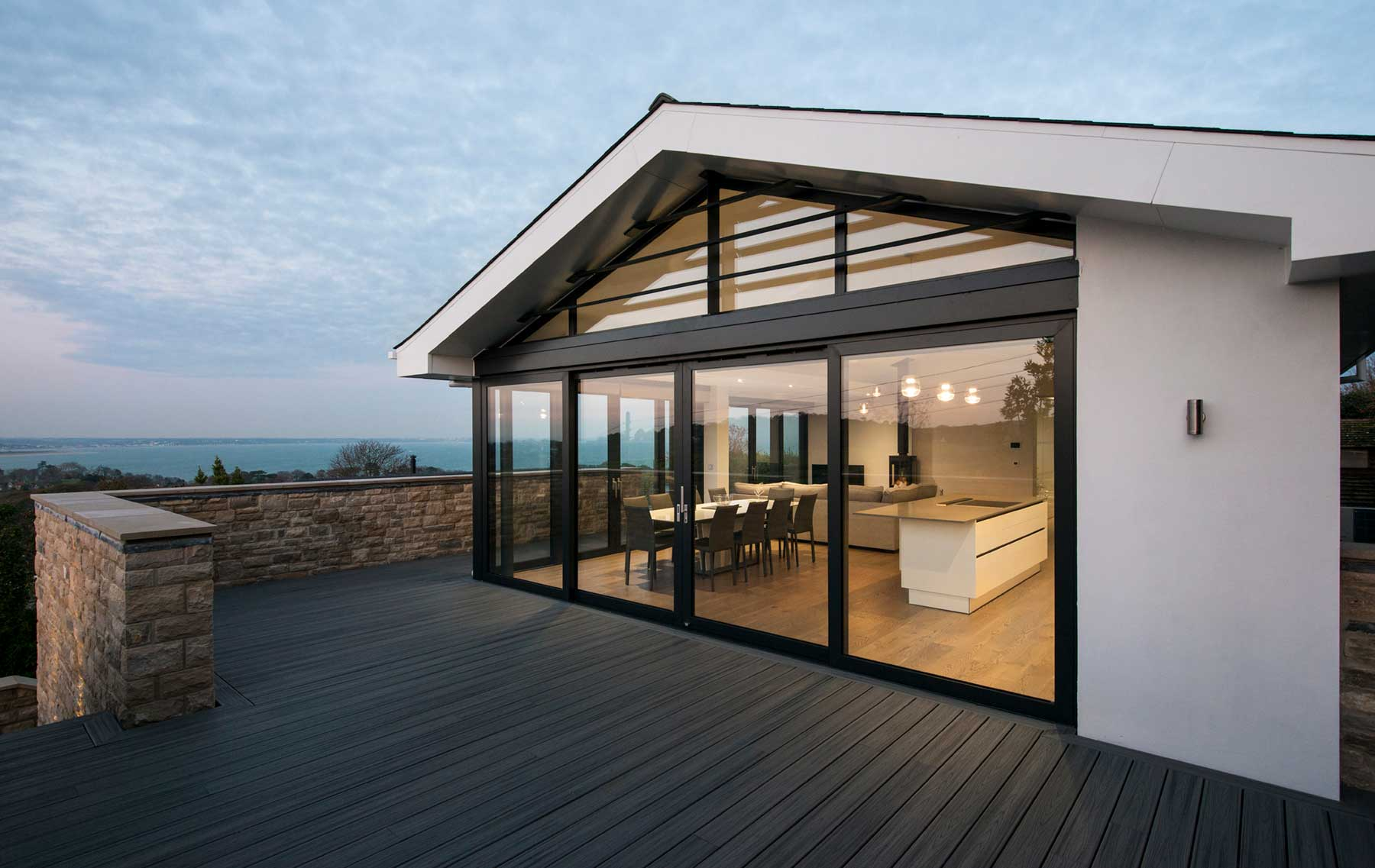 Sliding doors for coastal new builds