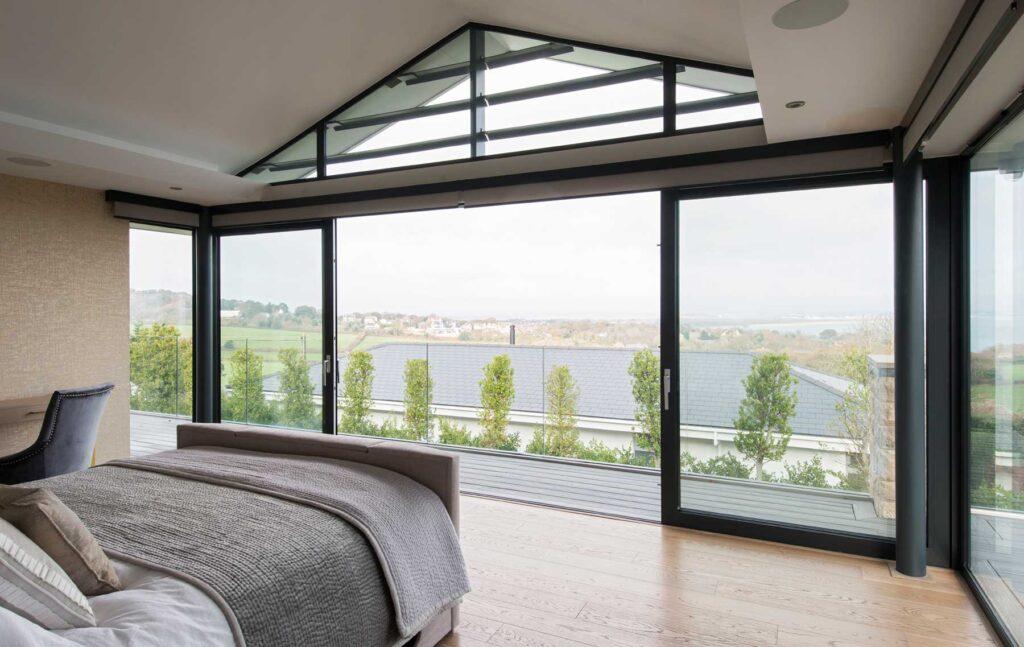 sliding doors for Dorset home
