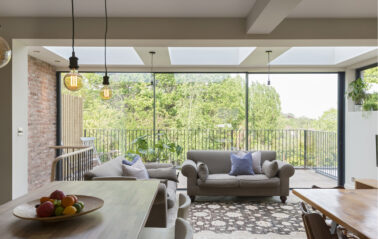 Cero sliding doors for Muswell Hill home