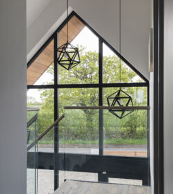 Curtain walling and entrance door for refurbished home in Essex
