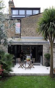 Hackney property benefits from aluminium bifolding doors and windows