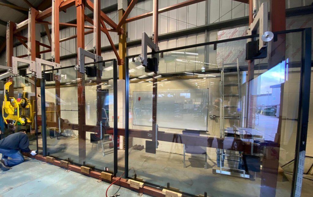 ODC factory Poole glass production line