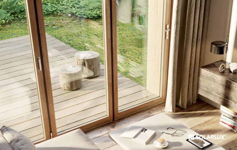 Woodline timber bifold doors